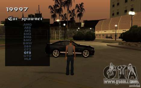 Vehicles Spawner for GTA San Andreas third screenshot