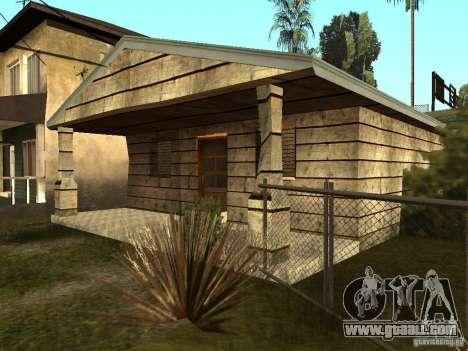 Retekstur houses on Groove Street for GTA San Andreas