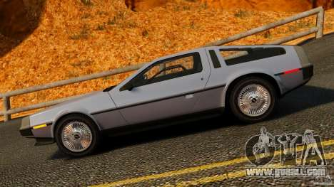 DeLorean DMC-12 1982 for GTA 4 left view