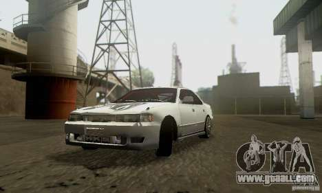 Toyota Cresta JZX90 for GTA San Andreas back left view
