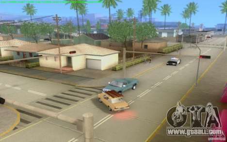 Concrete roads of Los Santos Beta for GTA San Andreas tenth screenshot