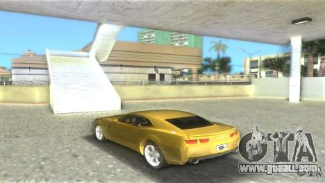 Chevrolet Camaro for GTA Vice City left view