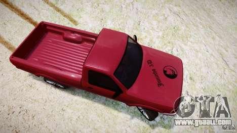 Ford Ranger for GTA 4 side view