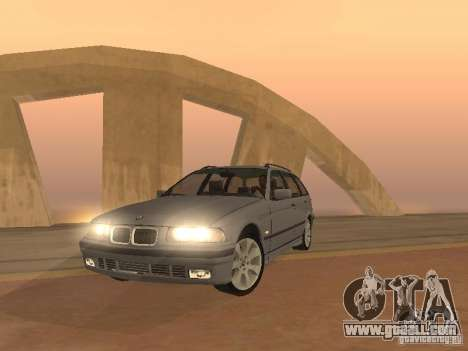 BMW 318 Touring for GTA San Andreas left view