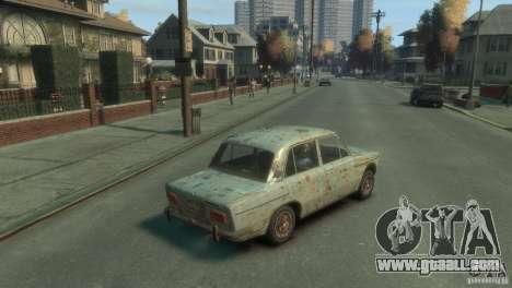 VAZ 2103-Rusty v1.0 for GTA 4 back left view