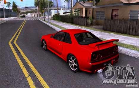 ENBSeries by HunterBoobs v3.0 for GTA San Andreas forth screenshot