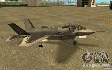 Lockheed F-35 Lightning II for GTA San Andreas left view