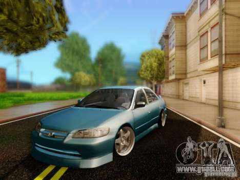 Honda Accord 2001 for GTA San Andreas