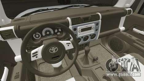 Toyota FJ Cruiser for GTA 4 side view