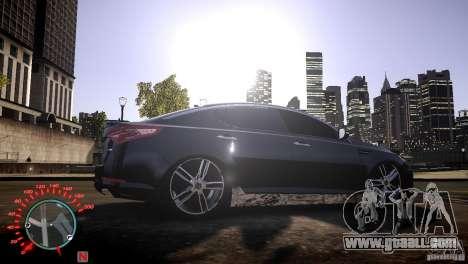 Kia Optima Dub for GTA 4 right view