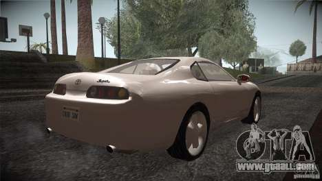 Toyota Supra for GTA San Andreas right view