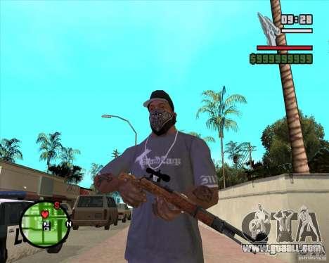 K98 for GTA San Andreas second screenshot