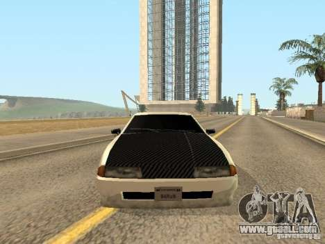 Elegy by Foresto_O for GTA San Andreas upper view