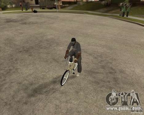New bike for GTA San Andreas right view