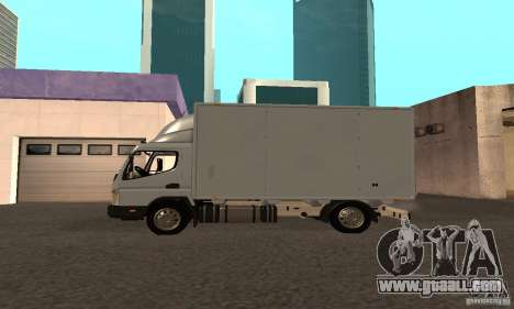 Mitsubishi Fuso Center for GTA San Andreas back left view