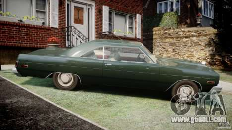 Dodge Dart 1975 [Final] for GTA 4 left view
