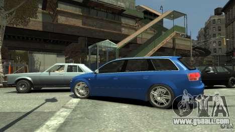 Audi S4 Avant for GTA 4 inner view