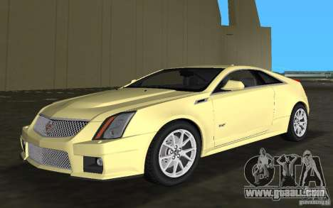 Cadillac CTS-V Coupe for GTA Vice City