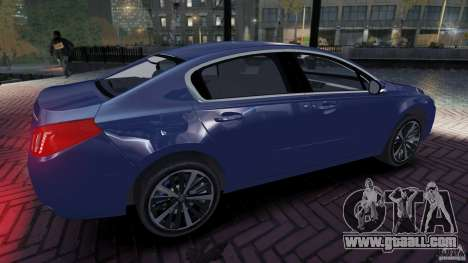 Peugeot 508 Final for GTA 4