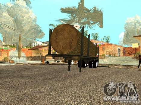 Felled tree for GTA San Andreas right view