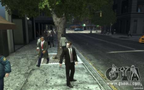 Open jackets with ties for GTA 4 seventh screenshot