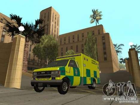 London Ambulance for GTA San Andreas