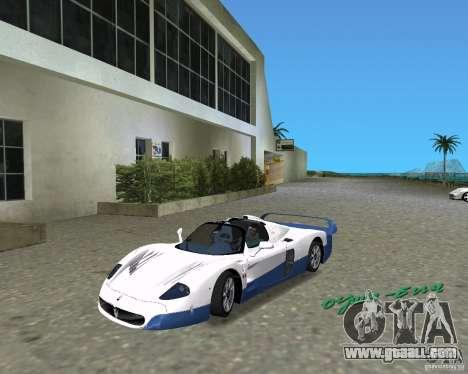 Maserati MC12 for GTA Vice City