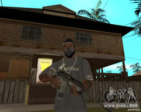 M4A1 with kolliminotarnym sight. for GTA San Andreas