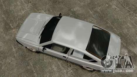 Skoda 120 Rapid v0.7 for GTA 4 right view