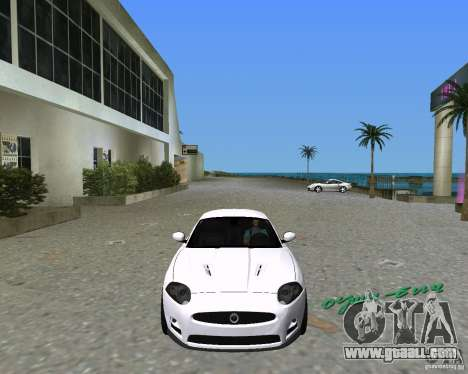 Jaguar XKR S for GTA Vice City right view