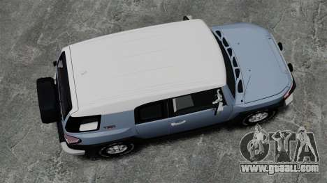 Toyota FJ Cruiser for GTA 4 right view