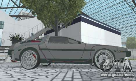 DeLorean DMC-12 (BTTF2) for GTA San Andreas right view