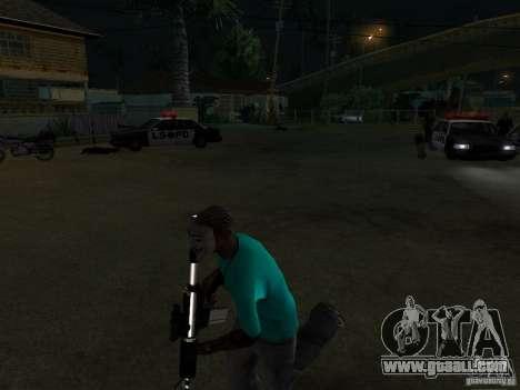 Guy Fawkes Mask for GTA San Andreas second screenshot