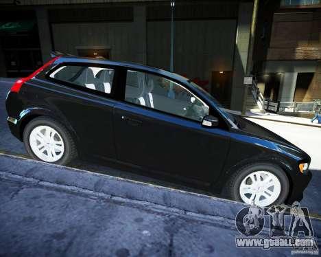 Volvo C30 2009 for GTA 4 left view