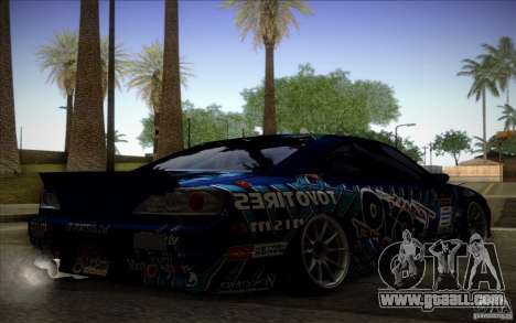 Nissa Silvia S15 Toyo for GTA San Andreas left view