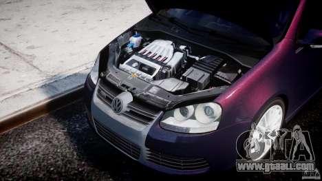 Volkswagen Golf R32 v2.0 for GTA 4 back view
