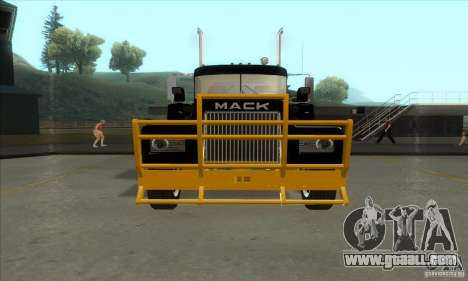 Mack R600 for GTA San Andreas left view