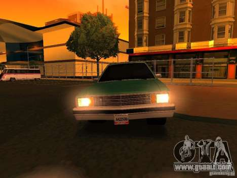 Chevrolet Malibu 1980 for GTA San Andreas