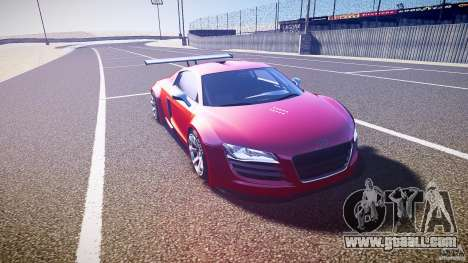 Audi R8 for GTA 4 back view