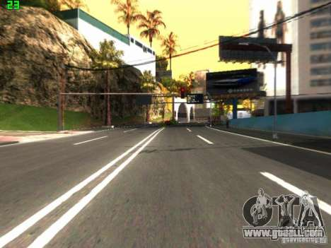 Roads Moscow for GTA San Andreas second screenshot