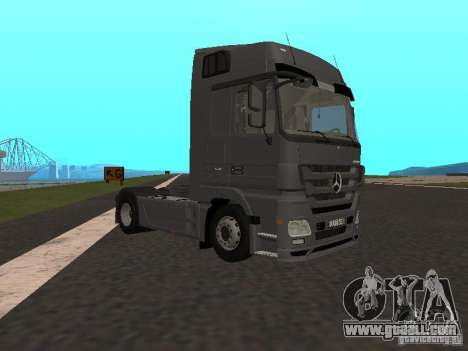 Mercedes-Benz Actros MP3 for GTA San Andreas right view