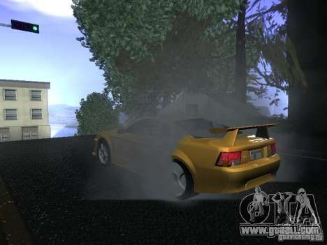Ford Mustang SVT Cobra for GTA San Andreas back view
