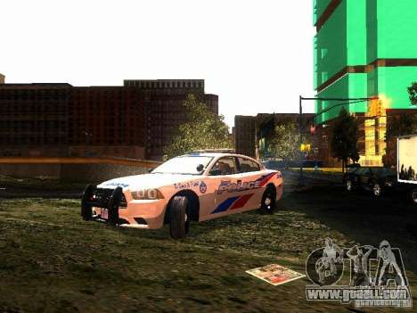 Dodge Charger 2011 Toronto Police for GTA San Andreas