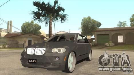 BMW X5 dubstore for GTA San Andreas