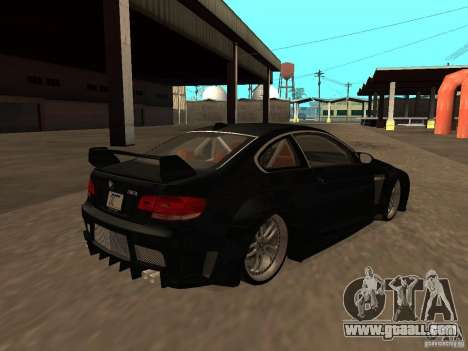 BMW M3 E92 Tunable for GTA San Andreas side view