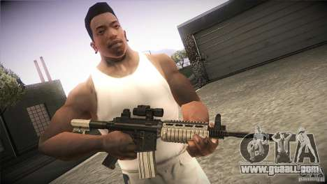 Weapon Pack by GVC Team for GTA San Andreas second screenshot