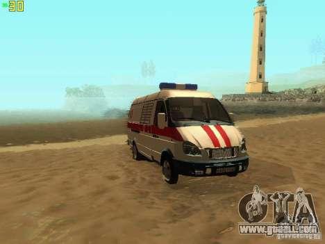 Gazelle 32214 Ambulance for GTA San Andreas
