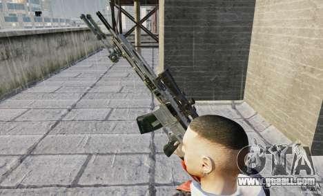 RSASS of MW3 (sniper) for GTA 4 forth screenshot