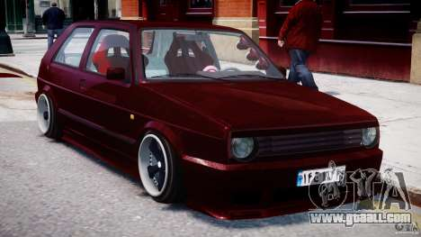 Volkswagen Golf MK2 Tuning for GTA 4
