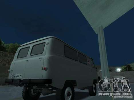 UAZ 451A for GTA San Andreas right view